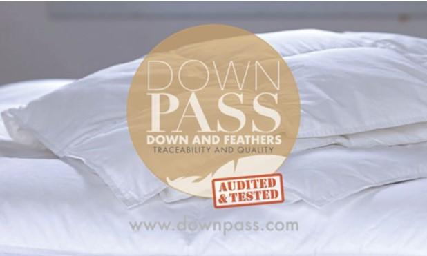 日本でたったの2社!DOWNPASS(ダウンパス)認証の羽毛布団