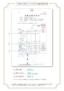 品質証明書2010 MWGD97%