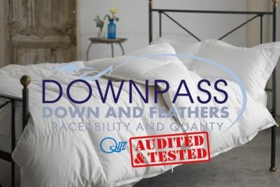 日本でたったの2社!DOWNPASS(ダウンパス)認証の羽毛掛け布団 限定販売のお知らせ